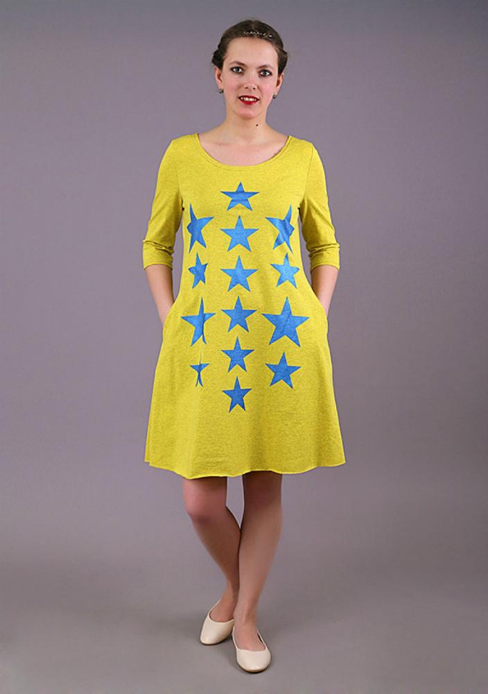 Платье женское ЗвёздыПлатья<br>Размер: 52<br><br>Высота: 7<br>Размер RU: 52