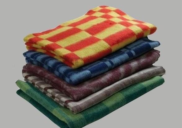 """Одеяло полушерстяное """"Колосок"""" 1,5 спальный (140*205)"""