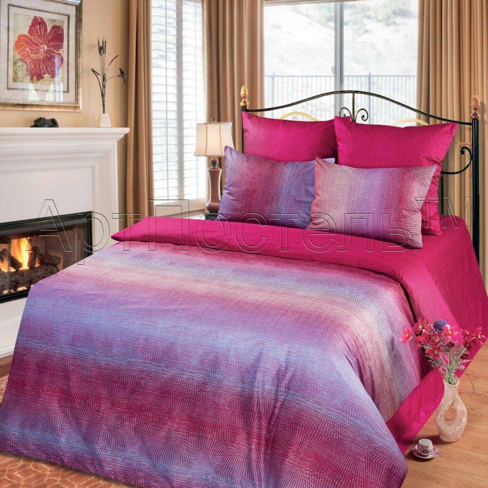 Постельное белье Розали (сатин) 2 спальный с Евро простынёй