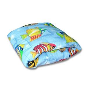 Купить Одеяло детское Персик (холофайбер, бязь)