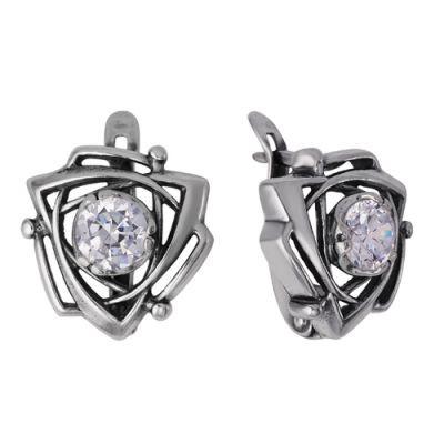 Купить Серьги серебряные 338462