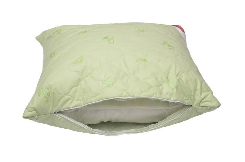 Купить Подушка на молнии Темная ночь (бамбук, тик)