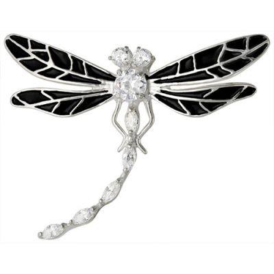 Купить Брошь серебряная 138150-Б
