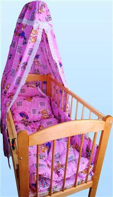 Купить Набор в кроватку с одеялом и подушкой (бязь) в интернет-магазине