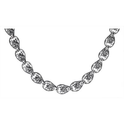 Купить Колье серебряное 430038-1