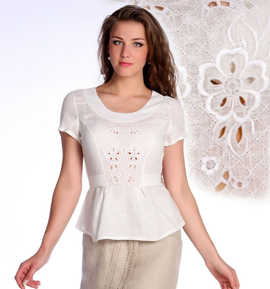 Купить Блузка льняная Николь