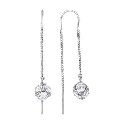 Купить Серьги серебряные 3386376б