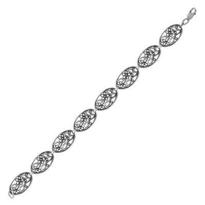 Купить Браслет серебряный 7302268