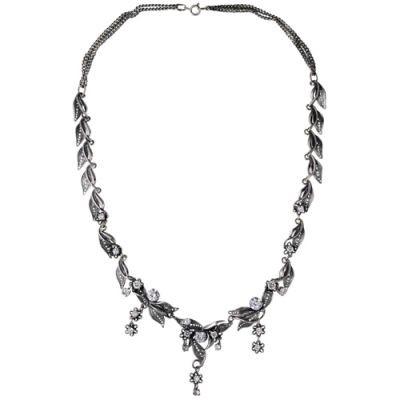 Купить Колье серебряное 438007