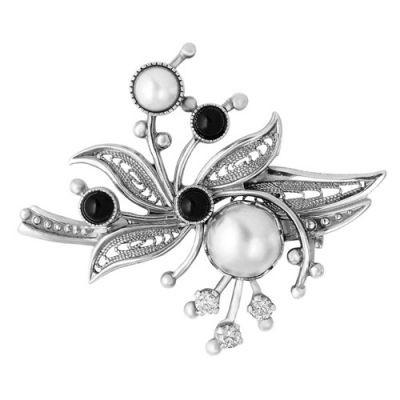Купить Брошь серебряная 138134