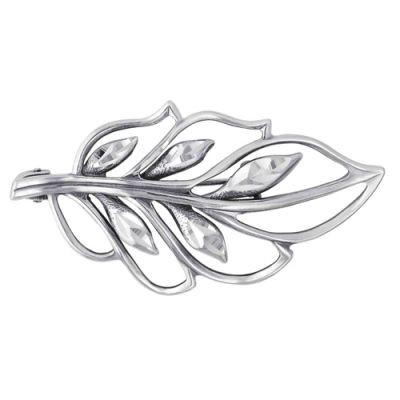 Купить Брошь серебряная 130148-5