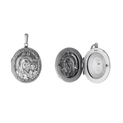 Купить Медальон бижутерия Казанская Божия матерь 5373ц