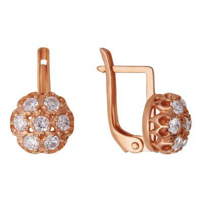 Купить Серьги серебряные 338530