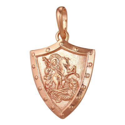 Купить Подвеска Георгий Победоносец серебряная 5306723