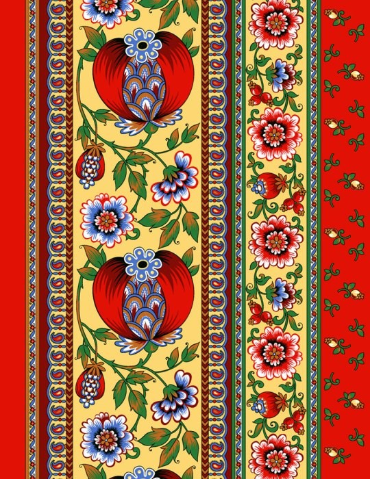 Купить Полотенце кухонное Гранатовый браслет