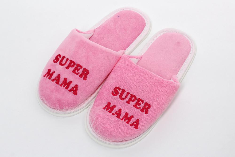 Купить Тапки женские Super мама