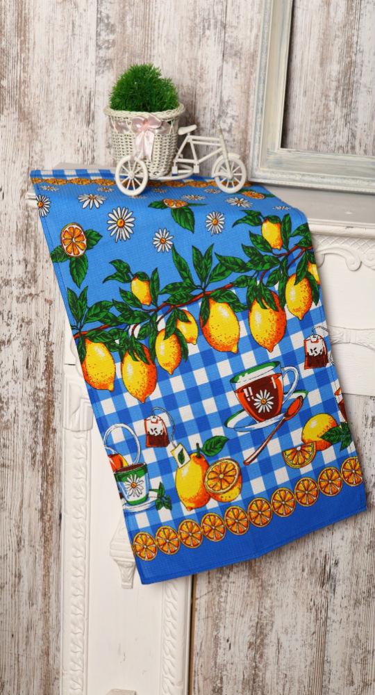 Купить Полотенце кухонное Лимоны