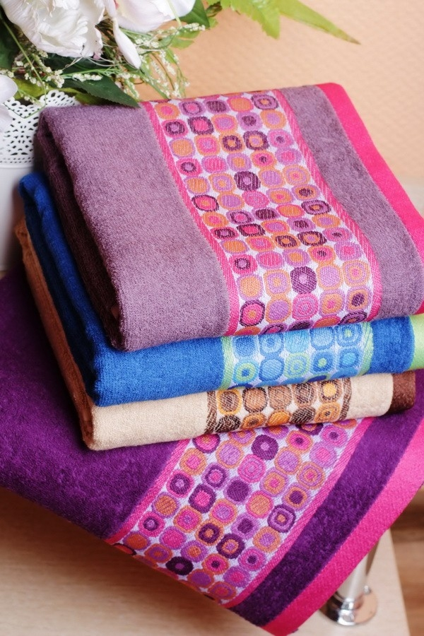Купить Бамбуковое полотенце Иллюзия