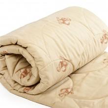 Одеяло облегченное Стандарт (овечья шерсть, полиэстер)