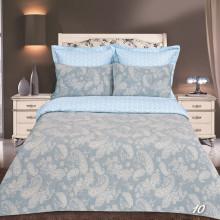 Постельное белье iv45163 голубой (сатин-жаккард)
