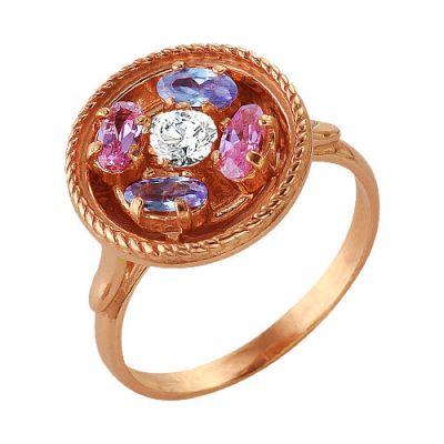 Кольцо серебряное 2382526Серебряные кольца<br>Вес  4,96<br>Вставка  Фианит<br>Покрытие  Золочение<br>Размерный ряд  16,5-19,5 Размер: 16.5<br><br>Высота: 3<br>Размер RU: 16.5