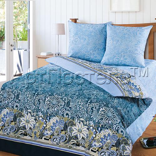 Постельное белье Кружева синий (бязь) 2 спальный с Евро простынёйПРЕМИУМ<br>Кружево отлично украшают не только ваше вечернее платье, но и постельное белье. Убедит вас в этом комплект постельного белья Кружева, сшитый из бязи.   Дизайн данного постельного белья выполнен в голубых и синих тонах, а также в нем использован принт с имитацией кружева. И стоит отметить, что принт имеет достаточно качественное выполнение, чтобы можно подумать, что кружева являются настоящими.  Другое достоинство комплекта постельного белья Кружева - это бязь, из которой он сшит, о чем уже было упомянуто ранее. Бязь состоит из натурального хлопкового волокна, а потому она обладает множеством различных свойств: экологичность и гипоаллергенность, мягкость текстуры, устойчивость перед контактами с водой и т.д. Размер: 2 спальный с Евро простынёй<br><br>Высота: 8<br>Размер RU: 2 спальный с Евро простынёй