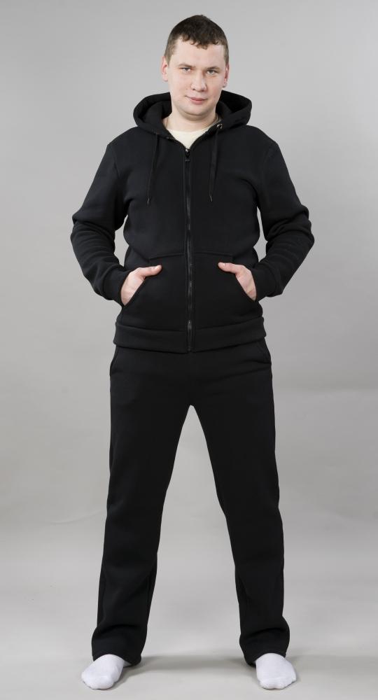 Костюм мужской ФиладельфияДомашние костюмы<br>Серьезность и лаконичность - черты, отличающие настоящих мужчин в плане одежды. И именно поэтому каждого представителя сильного пола обязательно привлечет наша новинка - мужской костюм Филадельфия!   Но вы по достоинству оцените в данном мужском костюме не только его лаконичность, которая очень ясно прослеживается в простом дизайне, лишенном ненужных деталей, и однотонной черной расцветке. Модель понравится вам еще и тем, что она сшита из футера, а он в свою очередь на 80% состоит из натурального хлопкового волокна.   К тому же мужской костюм Филадельфия обладает достаточно удобным фасоном, чтобы вы с удовольствием занимались в нем спортом.   Размер: 58<br><br>Принадлежность: Мужская одежда<br>Основной материал: Футер<br>Страна - производитель ткани: Россия, г. Иваново<br>Вид товара: Одежда<br>Материал: Футер<br>Сезон: Весна - осень<br>Состав: 80% хлопок, 20% полиэстер<br>Длина: 30<br>Ширина: 20<br>Высота: 11<br>Размер RU: 58