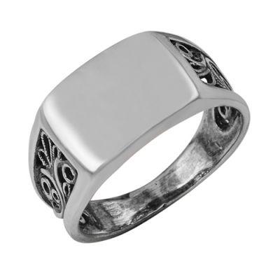 Кольцо серебряное 2301019Серебряные кольца<br>Артикул  2301019<br>Вес  5,80<br>Покрытие  оксидирование<br>Размерный ряд  18,5; 19,0; 19,5; 20,0; 20,5; 21,0; 21,5;  Размер: 20,5<br><br>Принадлежность: Драгоценности<br>Основной материал: Серебро<br>Страна - производитель ткани: Россия, г. Приволжск<br>Вид товара: Серебро<br>Материал: Серебро<br>Вес: 5,80<br>Покрытие: Оксидирование<br>Проба: 925<br>Вставка: Без вставки<br>Габариты, мм (Длина*Ширина*Высота): 23,5*21,5*12<br>Длина: 5<br>Ширина: 5<br>Высота: 3<br>Размер RU: 20,5