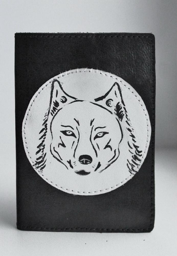 """Обложка на паспорт """"Волк 2"""" от Grandstock"""