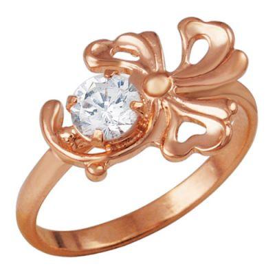 Кольцо серебряное 23554Серебряные кольца<br>Время от времени не забывайте себя баловать, а если не знаете, как это можно сделать, то мы вам подскажем: побалуйте себя сегодня этим милым колечком из серебра!<br>Помимо того, что кольцо изготовлено из натурального серебра, оно также имеет и другие достоинства, которые вам захочется оценить. Например, его дизайн и украшение в виде цветка и вставки из фианита. Данное кольцо выглядит очень нежно и романтично, а потому вы можете дополнять им свое платье: как повседневное, так и вечернее.<br>Вас также приятно удивит низкая стоимость данного кольца, учитывая то, что оно имеет такое высокое качество и такой красивый женственный дизайн.<br>Артикул 23554 Вес 1,75 Вставка Фианит; Покрытие золочение Размерный ряд 15,5; 16,0; 16,5; 17,0; 17,5; 18,0; Размер: 16.5<br><br>Высота: 3<br>Размер RU: 16.5