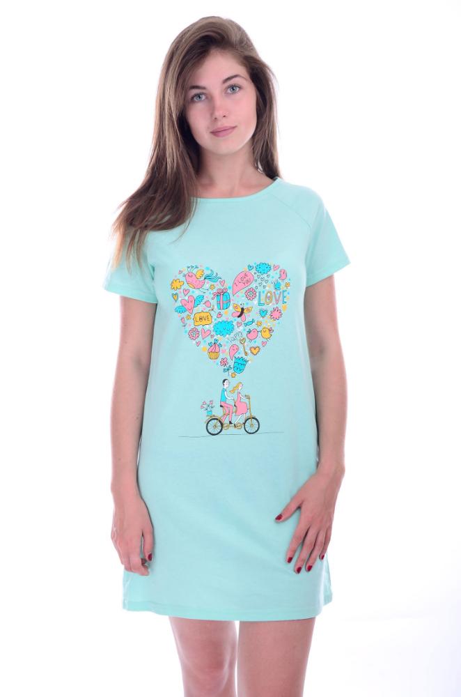 Сорочка женская ВиолеттаСорочки и ночные рубашки<br>Размер: 52<br><br>Высота: 7<br>Размер RU: 52