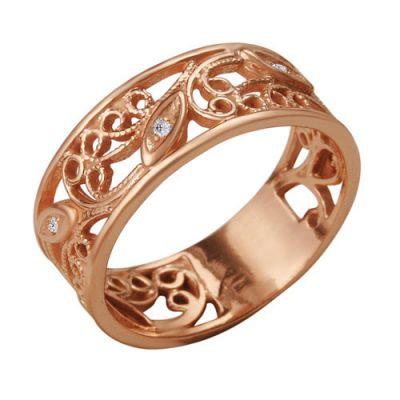 Кольцо серебряное 2382200Серебряные кольца<br>Вес  3,38<br>Вставка  Фианит;<br>Покрытие  золочение Размер: 17.5<br><br>Высота: 3<br>Размер RU: 17.5