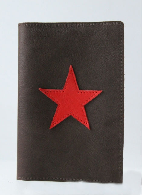 "Обложка на паспорт ""Звезда"""