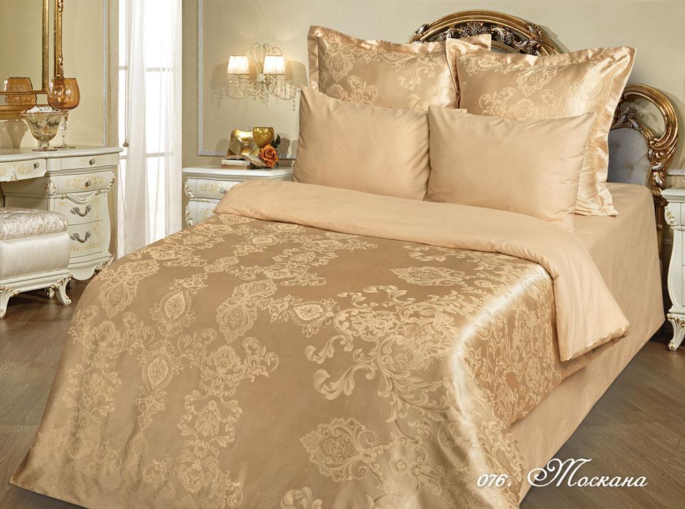 Постельное белье Тоскана (сатин-жаккард) 1,5 спальныйСатин-жаккард<br>Размер: 1,5 спальный<br><br>Высота: 7<br>Размер RU: 1,5 спальный