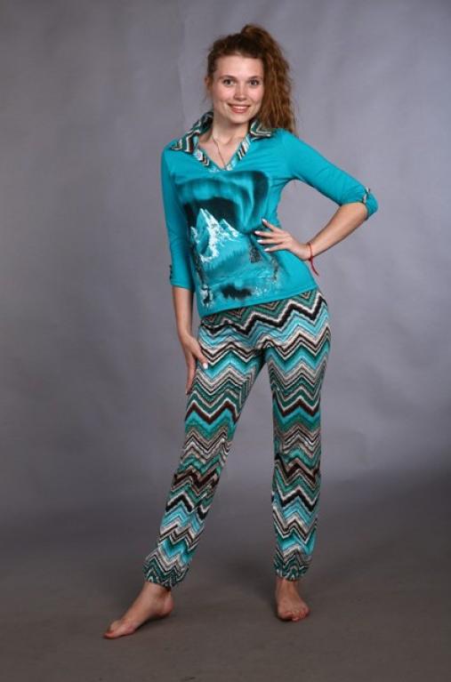 Костюм женский АрьянаЛетние костюмы<br>Размер: 44<br><br>Высота: 7<br>Размер RU: 44