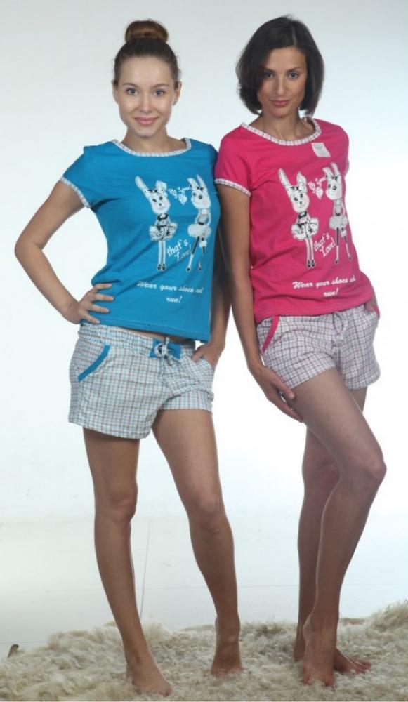 Пижама женская СинтанаПижамы<br>Размер: 52<br><br>Принадлежность: Женская одежда<br>Комплектация: Шорты, футболка<br>Основной материал: Кулирка<br>Страна - производитель ткани: Россия, г. Иваново<br>Вид товара: Одежда<br>Материал: Кулирка<br>Тип застежки: Без застежки<br>Состав: 100% хлопок<br>Длина рукава: Короткий<br>Длина: 18<br>Ширина: 12<br>Высота: 7<br>Размер RU: 52