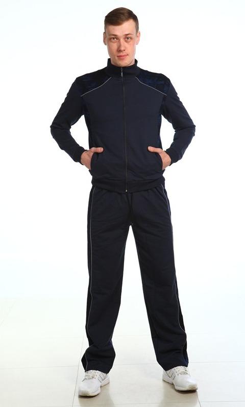 Костюм мужской СтойкаДомашние костюмы<br>Настоящего мужчину отличает умение всегда и при любой ситуации иметь достойный и, главное - подходящий, внешний вид. И наиболее подходящей одеждой для занятий спортом в зале или же на открытом воздухе будет мужской спортивный костюм Стойка.<br>Представленный костюм сшит из футера с добавлением лайкры, материала, который более чем подходит для пошива спортивной одежды, ведь он обладает высоким теплоизоляционным свойством и является довольно эластичным. А состоит костюм из олимпийки на молнии и брюк.<br>Вам понравится в модели Стойка ее лаконичный дизайн, который лишен ненужных деталей и украшений.<br>Размерный ряд: 46-58, Материал: Футер с лайкрой. Расцветки: черный, серый меланж. Размер: 56<br><br>Принадлежность: Мужская одежда<br>Основной материал: Футер<br>Вид товара: Одежда<br>Материал: Футер с лайкрой<br>Длина: 30<br>Ширина: 20<br>Высота: 11<br>Размер RU: 56