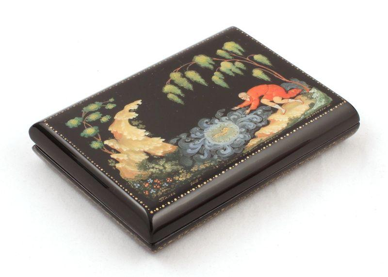 Шкатулка Сказка о золотой рыбке