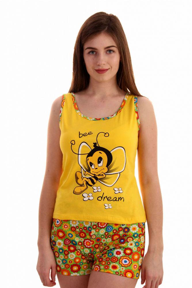 Пижама женская ЛетоПижамы<br>Размер: 52<br><br>Высота: 7<br>Размер RU: 52