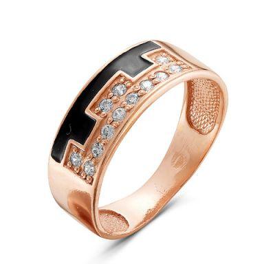 Кольцо серебряное 2386535Серебряные кольца<br>Вес  2,77<br>Вставка  фианиты<br>Покрытие  золочение Размер: 19.0<br><br>Высота: 3<br>Размер RU: 19.0