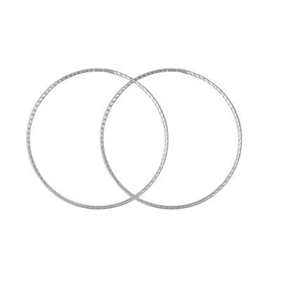 Серьги серебряные 3301391б5 - ГрандстокБез камней<br>Вес  7,16<br>Покрытие  без покрытия<br>Описание  Диаметр 75 мм, толщина 1,8 мм.<br><br>Принадлежность: Драгоценности<br>Основной материал: Серебро<br>Вид товара: Серебро<br>Материал: Серебро<br>Вес: 7,16<br>Покрытие: Без покрытия<br>Проба: 925<br>Вставка: Без вставки<br>Упаковка: 1 пара<br>Габариты, мм (Длина*Ширина*Высота): 75*1,8<br>Длина: 5<br>Ширина: 5<br>Высота: 2