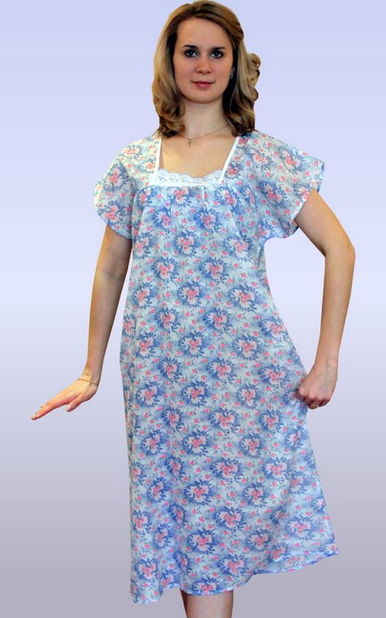 Ночная сорочка МагонияСорочки и ночные рубашки<br>Не знаете, как выбрать удобную, красивую и практичную одежду для сна? Не можете определиться с кроем и материалами? Обратите внимание на ситцевую ночную сорочку Магония!<br>Тонкая, легкая ткань пропускает воздух, поддерживает оптимальную терморегуляцию и не нуждается в сложном уходе. Просторный фасон не ограничивает движения. Ситец обладает достаточной прочностью, долгое время сохраняя первоначальную прочность и вид при соблюдении температурного режима в процессе стирки.<br>Ночная сорочка Магония - это не только практичность и удобство, но также и доступная стоимость, которая с легкостью впишется даже в небольшой бюджет. Размер: 46<br><br>Принадлежность: Женская одежда<br>Основной материал: Ситец<br>Страна - производитель ткани: Россия, г. Иваново<br>Вид товара: Одежда<br>Материал: Ситец<br>Состав: 100% хлопок<br>Длина рукава: Короткий<br>Длина: 18<br>Ширина: 12<br>Высота: 7<br>Размер RU: 46