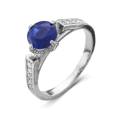 Кольцо серебряное 2386178Д3Серебряные кольца<br>Вес  2,99<br>Вставка  фианиты<br>Покрытие  родирование Размер: 19.0<br><br>Высота: 3<br>Размер RU: 19.0