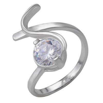 Кольцо серебряное 2381513бСеребряные кольца<br>Вес  4,75<br>Вставка  Фианит;<br>Покрытие  без покрытия Размер: 18<br><br>Высота: 3<br>Размер RU: 18