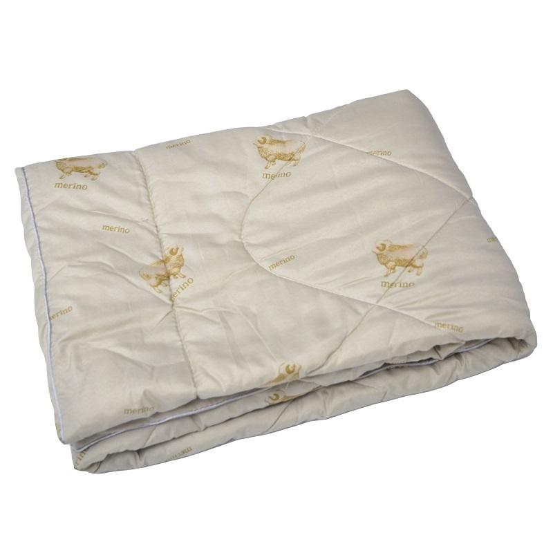 """Одеяло детское """"Мулан"""" (овечья шерсть, микрофибра) Детский (110*140)"""