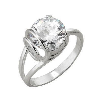 Кольцо серебряное 2382513бСеребряные кольца<br>Вес  4,98<br>Вставка  Фианит<br>Покрытие  без покрытия Размер: 19.5<br><br>Высота: 3<br>Размер RU: 19.5