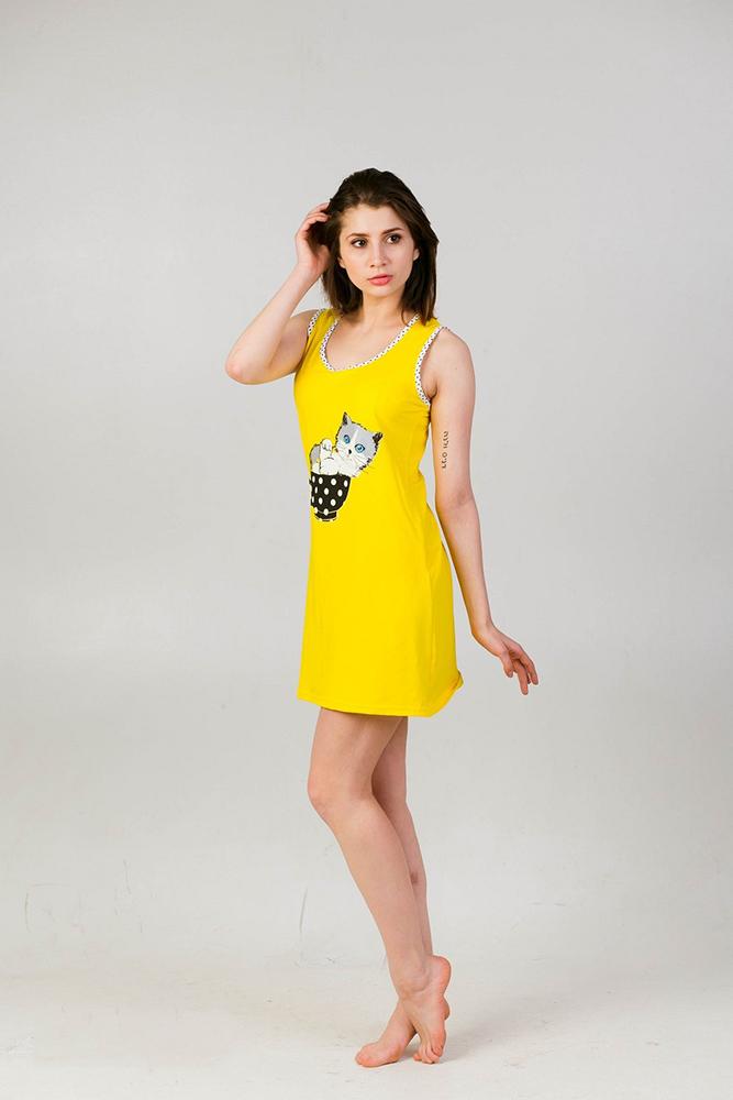 Ночная сорочка КотенокСорочки и ночные рубашки<br>Размер: 50<br><br>Высота: 7<br>Размер RU: 50