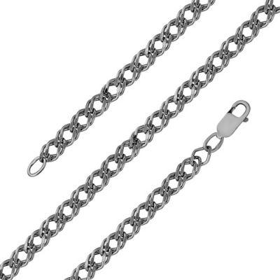 Цепочка бижутерия МРДГ2 (оксидирование)Бижутерия<br>Артикул  МРДГ2 <br>Покрытие - Серебрение с оксидированием<br>Размерный ряд  -17, 18, 19, 20, 21, 22, 40, 45, 50, 55, 60, 65<br> Размер: 20<br><br>Принадлежность: Драгоценности<br>Основной материал: Бижутерный сплав<br>Страна - производитель ткани: Россия, г. Приволжск<br>Вид товара: Бижутерия<br>Материал: Бижутерный сплав<br>Покрытие: Серебрение с оксидированием<br>Вставка: Без вставки<br>Габариты, мм (Длина*Ширина*Высота): Длина изделия*6*3<br>Вид плетения: Ромб двойной граненый<br>Длина: 17<br>Ширина: 5<br>Высота: 3<br>Размер RU: 20