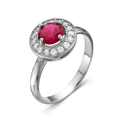 Кольцо серебряное 2386518Д8Серебряные кольца<br>Вес  2,86<br>Вставка  фианиты<br>Покрытие  родирование Размер: 19.0<br><br>Высота: 3<br>Размер RU: 19.0