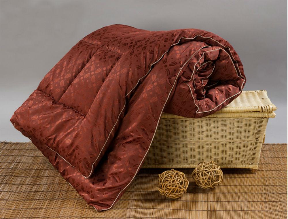 """Одеяло зимнее """"Пробуждение"""" (верблюжья шерсть, трикот) 2 спальный (172*205)"""